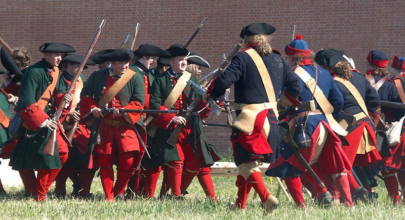 Northern War reenactment