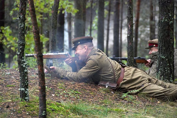 Re-enactment in Sestrorezk