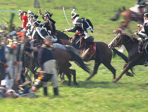 Borodino 2008 re-enactment - the battle