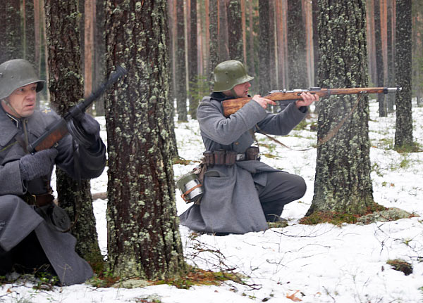Winter War (Talvisota) re-enactment