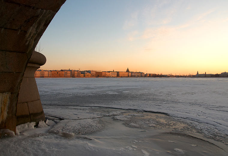 Ice route in St.Petersburg - part I
