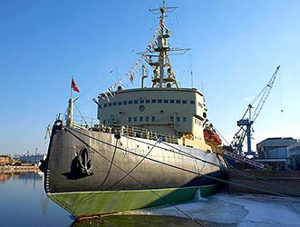 "The icebreaker ""Krasin"""